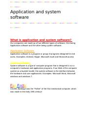 Kirah Mills - Application and system software.docx