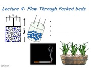 Lecture 20 - Flow Through Packed Beds [Full Slides]