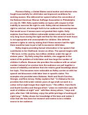 florence kelley essay caleb alcime period rd ap language  other related materials