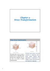 Chapter 9 Stress Transformation