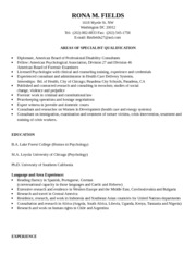 Resume template for Fields and Warshaw (1)
