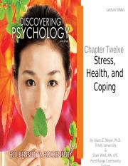 Chapter12-Health Stress Coping