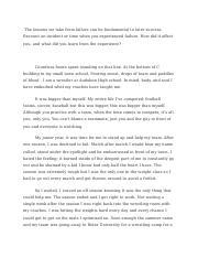 Essay about failure
