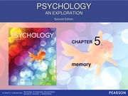 Chapter 5 - Psych 100 - F13 for students