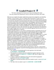 Graded Project II