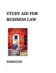 Business Law #1
