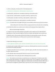 fin 540 homework chapter 18
