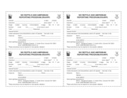 animal report form