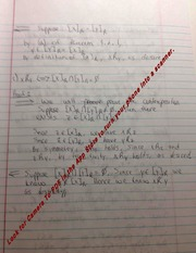 Equivalence Notes