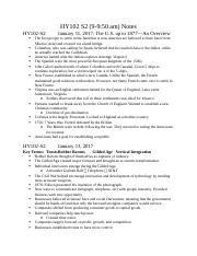 HY102 Lecture Notes 1-11 to 1-25