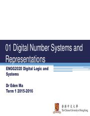Lecture 01 Digital Number Systems and Representations 20150915.pdf