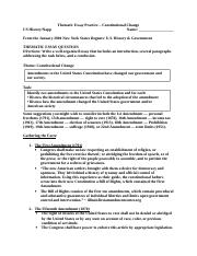 Thematic Essay Practice Constitutional Change.doc
