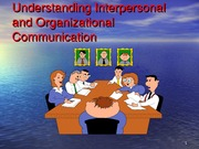 Chapter 7 Organizational communication