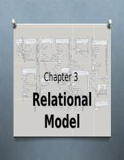 Chapter 3 – Relational Model.ppt