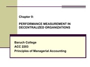 1124 Chapter 9 PERFORMANCE MEASUREMENT