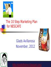 10stepmarketingplanfornescafe-121108093841-phpapp01.pptx
