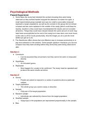 Behavorial_Science-_Chapter_2_Notes_
