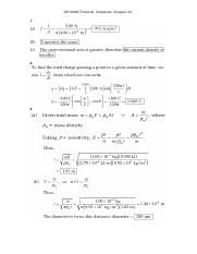Tutorial Solutions Ch27_28(1)
