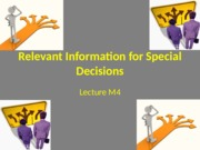 Lecture M4-RelevantInfoforDecisions