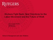 Workers Fight Back