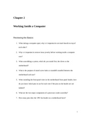 Chapter 2 Homework Review Questions(1)