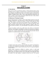 Chapter-6-NON-LINEAR-SYSTEMS