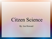 T1-CitizenScience