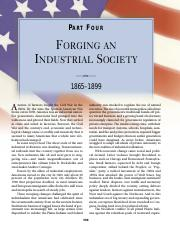 chapter 23 forging an industrial society