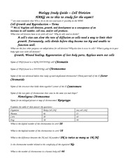 cell division review sheet answers cell division study guide answer key. Black Bedroom Furniture Sets. Home Design Ideas
