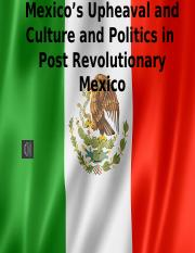 Mexico's+Upheaval+Culture+and+Politics+in++Post+Revolutionary