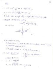 Solution (Sample Final Exam)