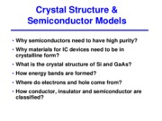 02 - Crystal structure _ semiconductor models