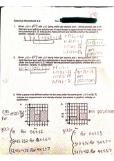 ap calc worksheet k2