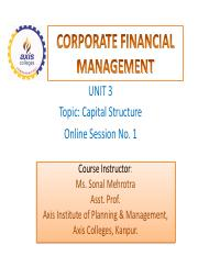 FINANCIAL MANAGEMENT-UNIT 3-Online Session 1.pdf