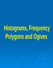 Histograms, Frequency Polygons and Ogives.pptx