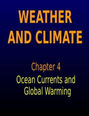 Chapt4_Ocean Currents_Global Warming