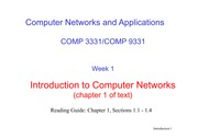 L2 - Introduction to Computer Networks