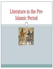 D.Gihan -The Arabic Literature during the Pre-Islamic Period&&&&& 1