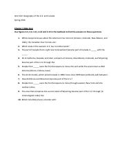 Chapter 3 Map Quiz Questions