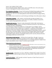 History 1301 SUPER STUDY GUIDE.docx
