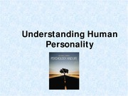 9 Understanding Human Personality (Fall 2014)