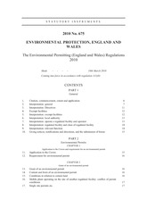 ENVIRONMENTAL PERMITTING REGULATION 2010 COMPLETE