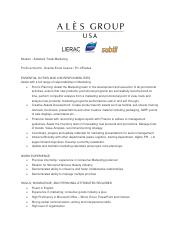 ALES Group USA - Marketing intern - Job sheet.pdf
