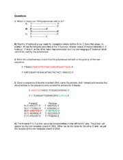 Tutorial 11 Answers