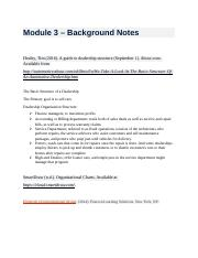Module 3 - Background Notes.docx