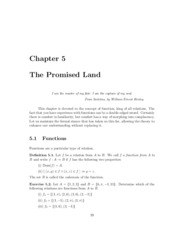 Chapter 5 - The Promised Land