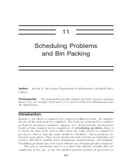 A11 - Scheduling Problems and Bin Packing.pdf