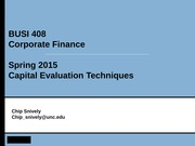 7BUSI408TR - Capital Evaluation