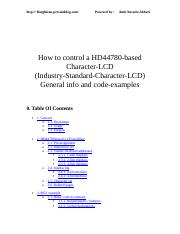 How to control a HD44780_General info and code-examples.doc