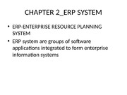 CHAPTER 2_ERP SYSTEM